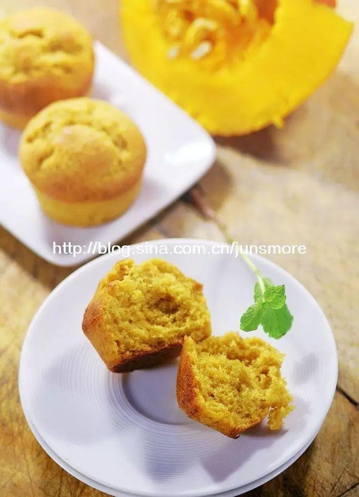 南瓜小蛋糕 | 超松软,秋天的味道!