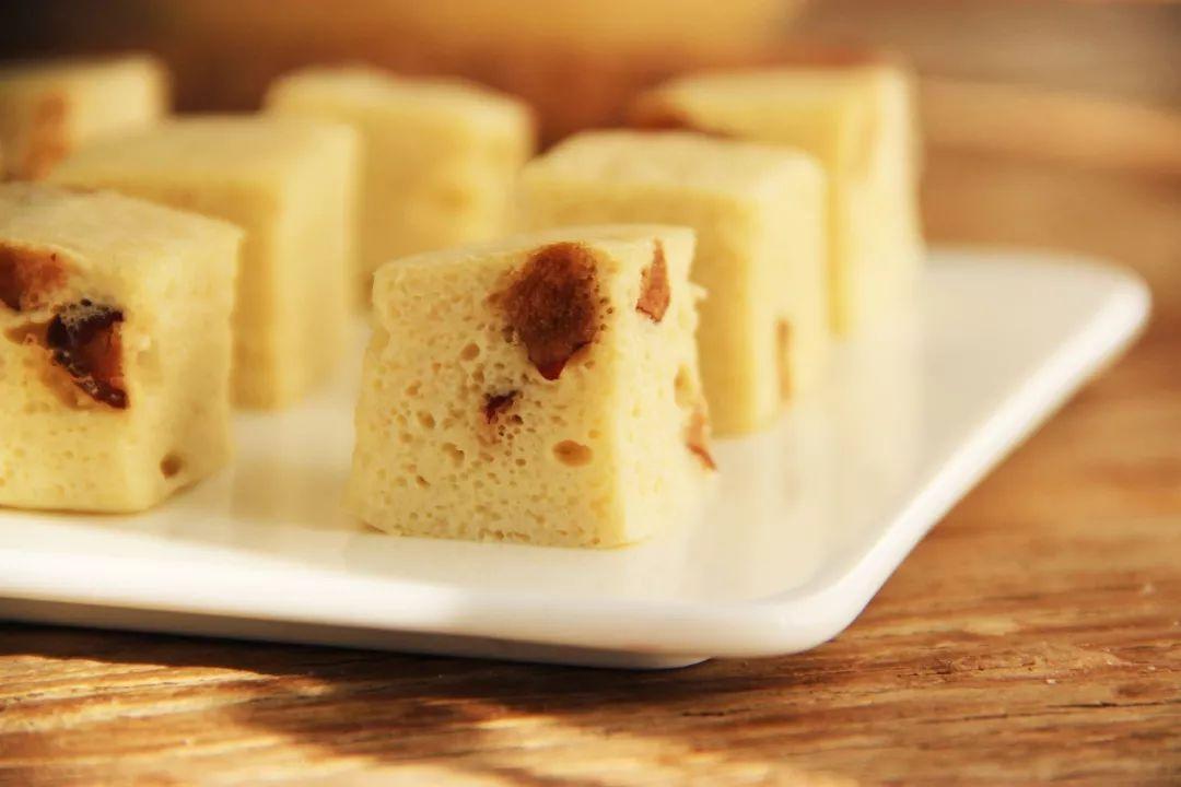寒风渐起~来块又暖又润的蒸蛋糕吧!