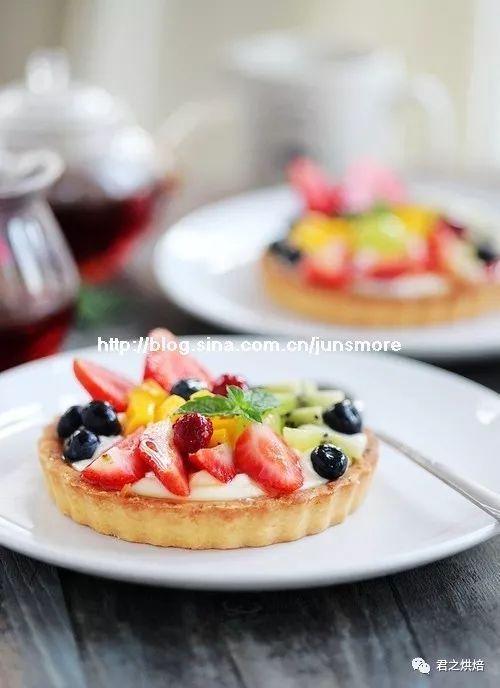 好美貌的缤纷水果挞,好吃到完美!