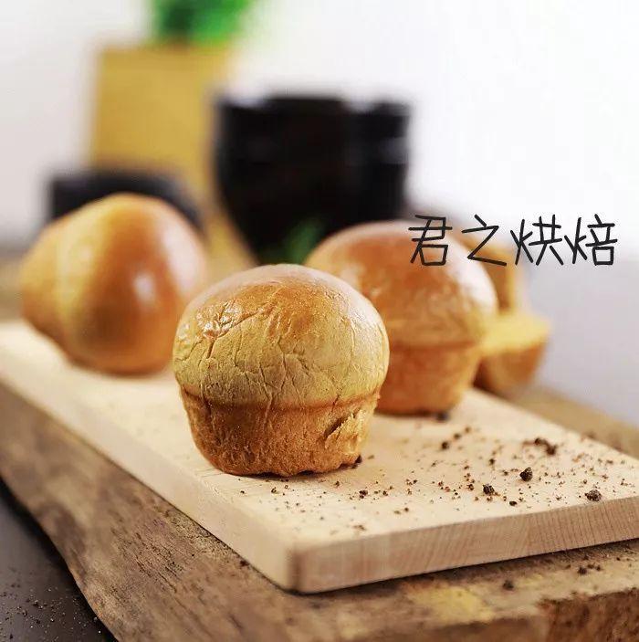 温暖的红糖面包,想想就喜欢~