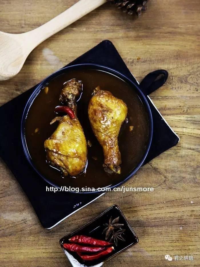 酱香鸡腿:汤汁浓郁,酱香扑鼻