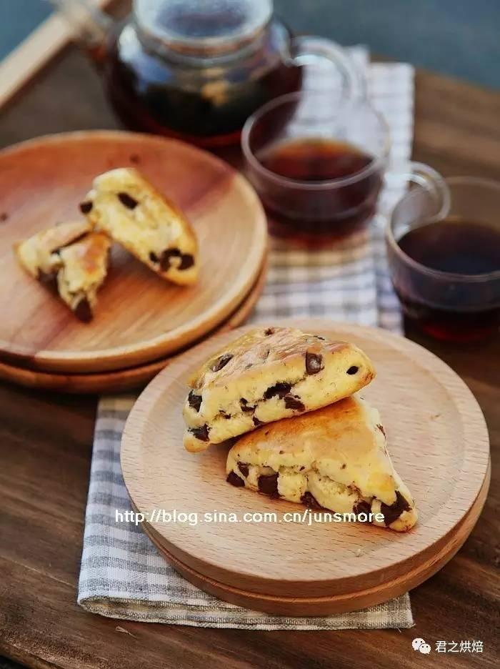 用最快的速度,做出美味下午茶点 | 巧克力豆司康