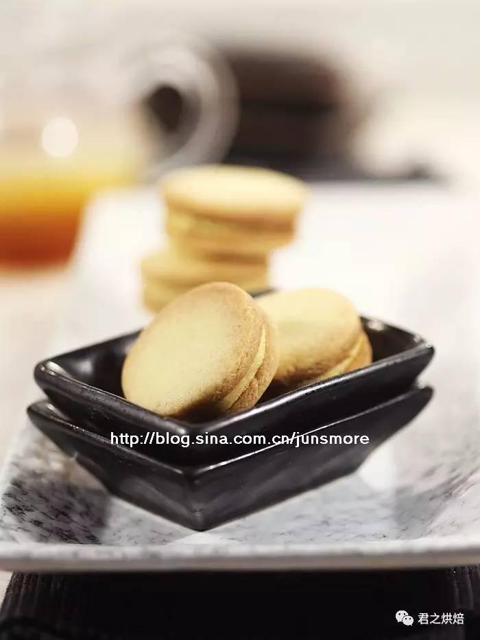 芒果奶油夹心饼干   基础奶油夹心,可以这样做!
