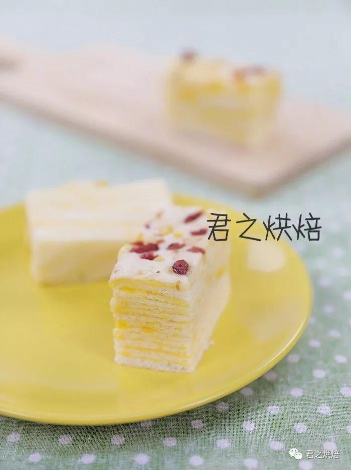蛋黄千层蒸糕,松软香甜层层叠叠