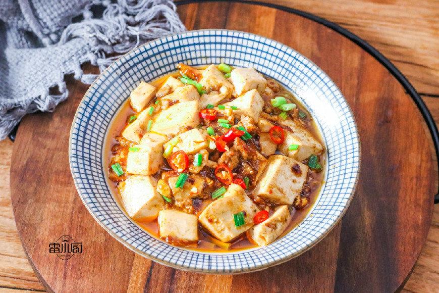 麻婆豆腐的家常做法,味道正宗,比肉还香!
