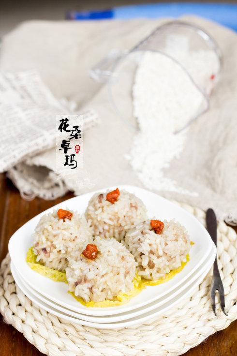 #九州筵席#最具代表性的年夜菜——糯米丸子
