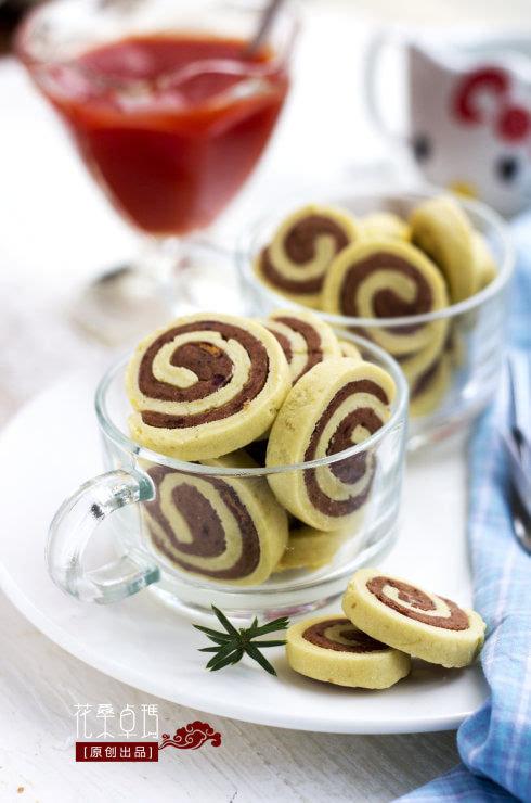 豆沙圈圈饼干:一款既有颜值,又美味的饼干