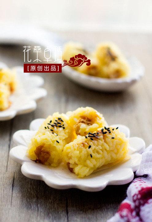 【金枪鱼烤米卷】变个花样让孩子爱上米饭