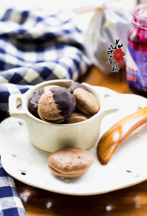 巧克力果酱夹心饼