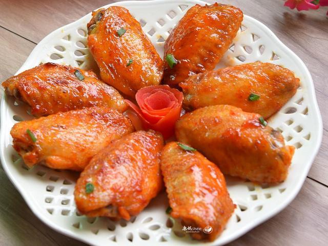 4种简单易学的鸡翅做法,各具特色,味道香肉质嫩,老少都爱吃