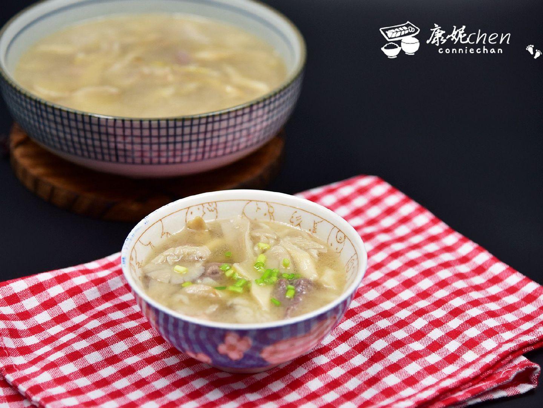 【平菇瘦肉汤】能增强抵抗疾病能力