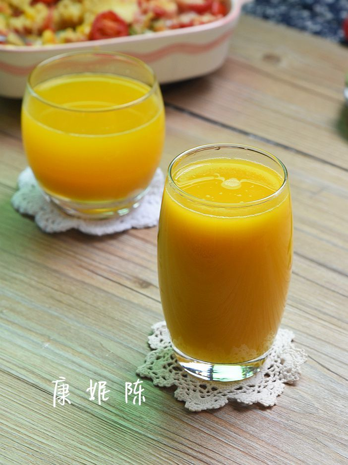 【早安】【南瓜鹰嘴豆浆】【南瓜豆浆馒头】