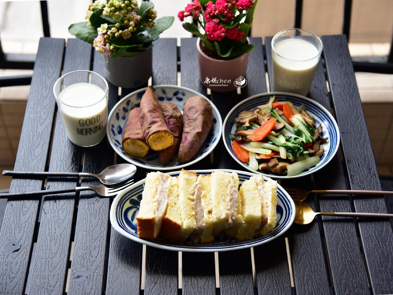 两天不重样的早餐,简单好做又美味,这样的早餐可以多睡10分钟
