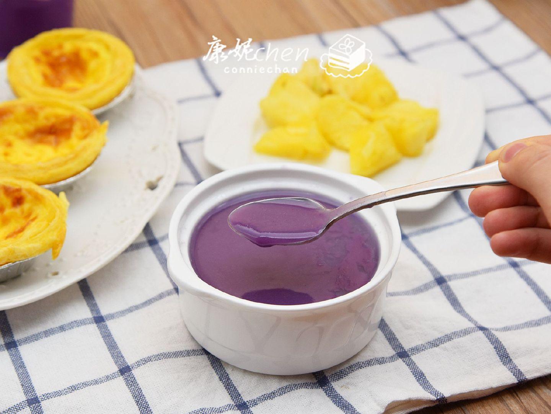 两种粗粮清除肠胃垃圾【紫薯燕麦米糊】