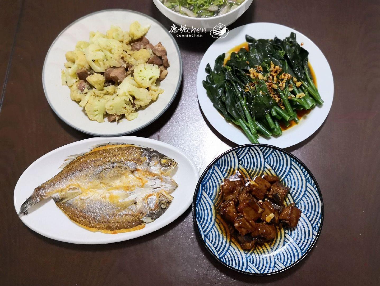 周日回父母家,做了4菜1汤,实惠又卫生,营养味美,好吃不浪费