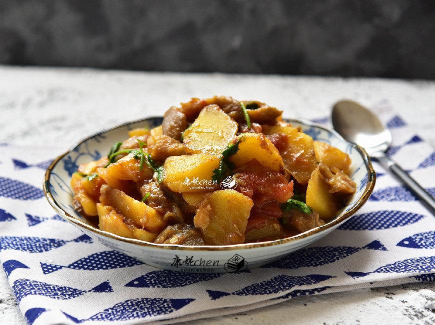 土豆的别样做法,太好吃了,吃得汤汁不剩一滴,孩子更爱吃饭了