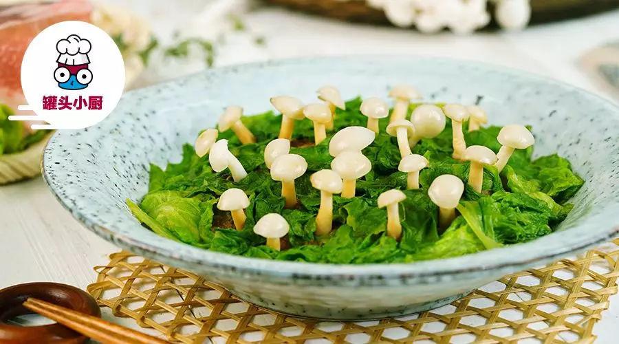 荤素合一,才是白玉菇最健康最正确的打开方式!