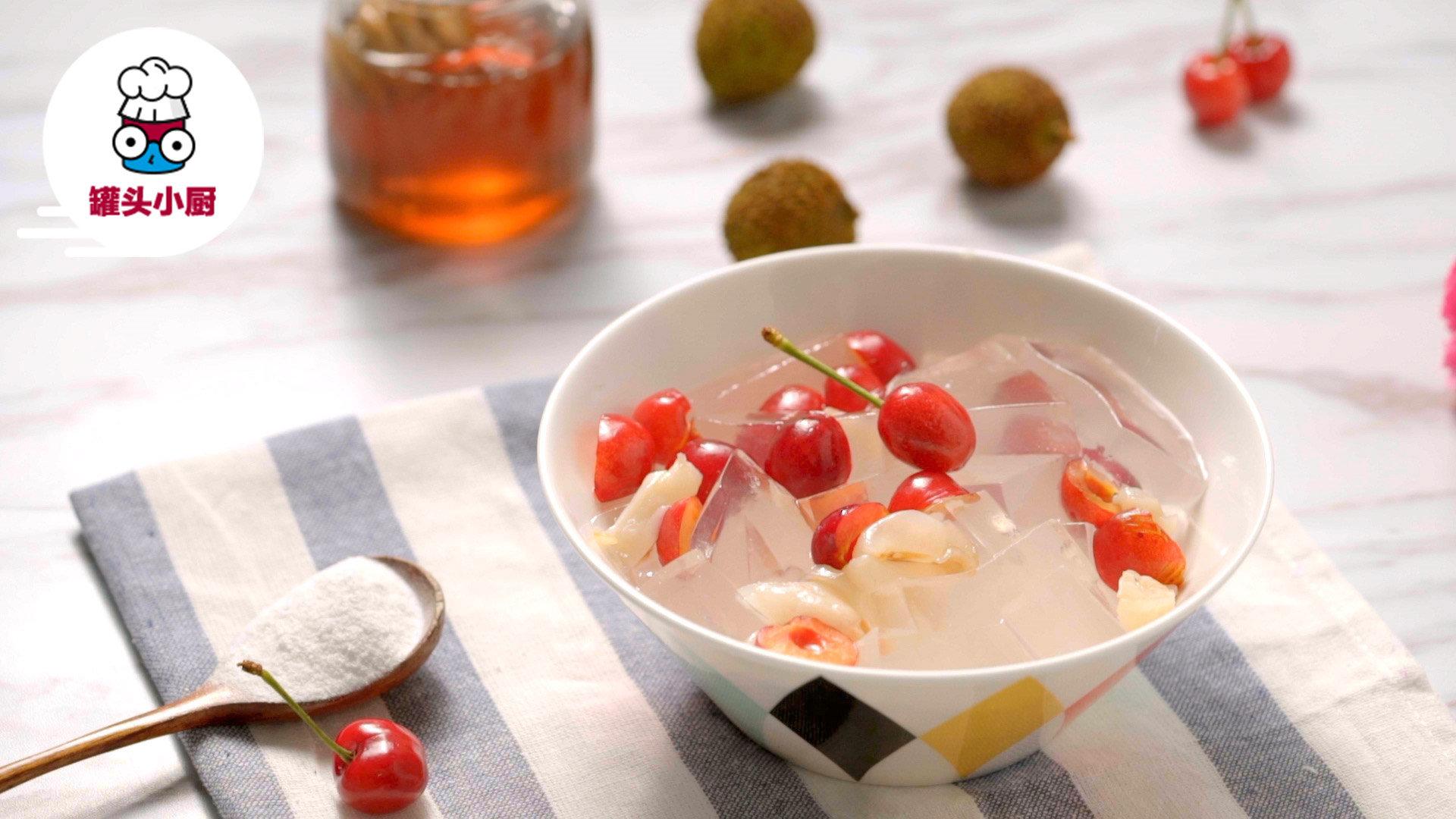 零难度爽滑冰粉!据说是夏天最赞的消暑甜品!