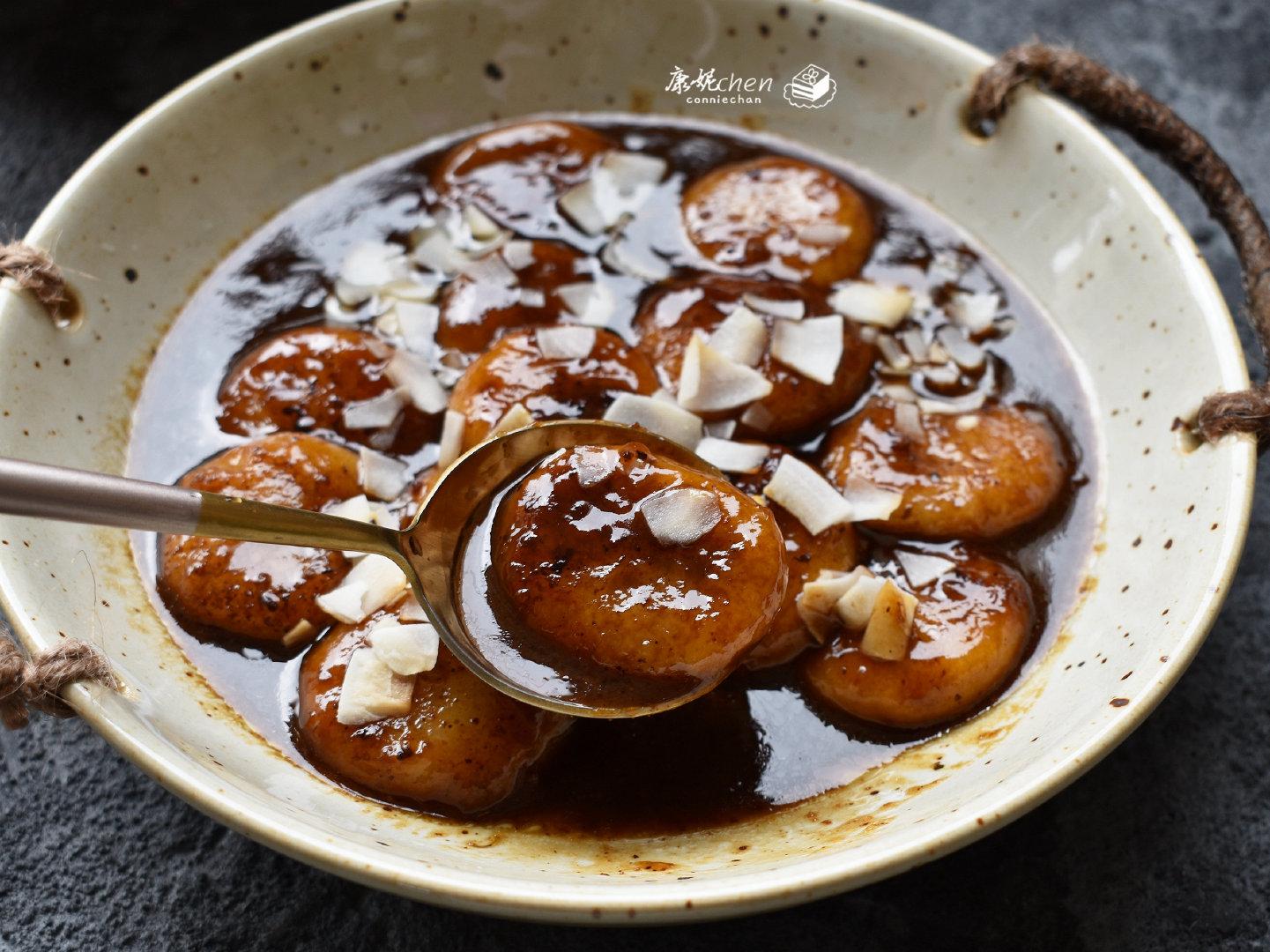 汤圆版糖油粑粑:比水煮好吃很多,软糯甜蜜