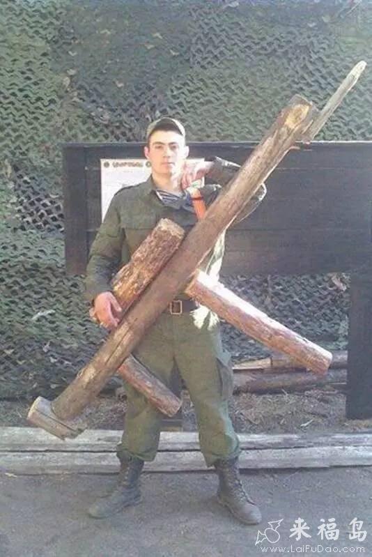 你的枪真大