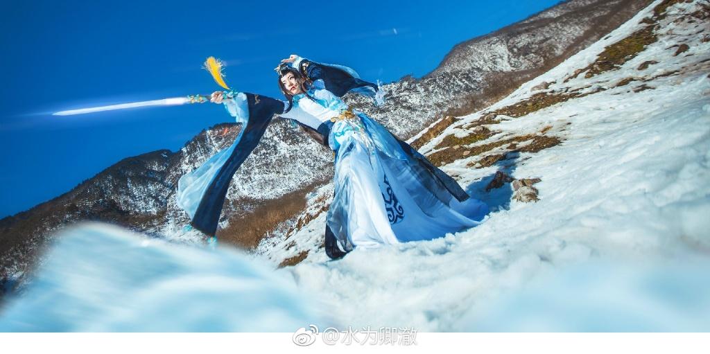 【cos正片】剑网三·纯阳·破虏道姑 cn:水为卿澈 cosplay-第6张