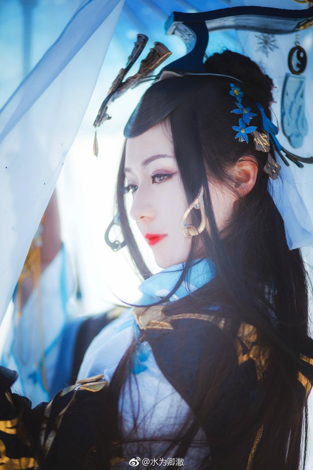 【cos正片】剑网三·纯阳·破虏道姑 cn:水为卿澈 cosplay-第1张