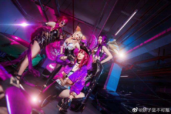 【cos正片】《KDA女团》帅气出道  cosplay欣赏 cosplay-第5张