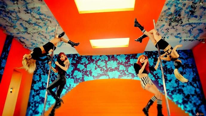 野性钢管舞《初恋》-韩国女子组合After School