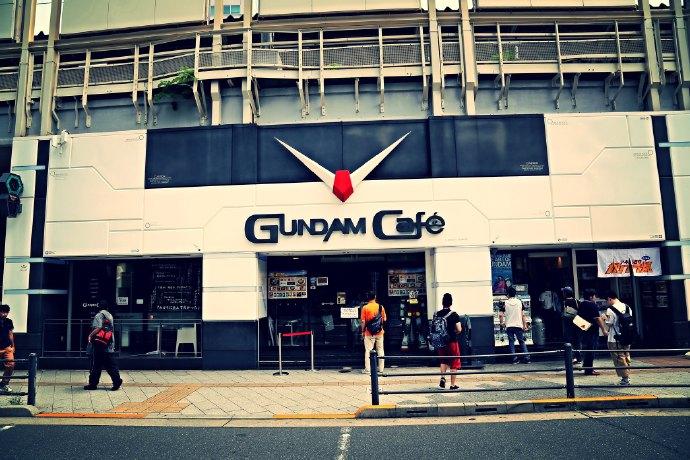 Gundam Cafe 秋叶原