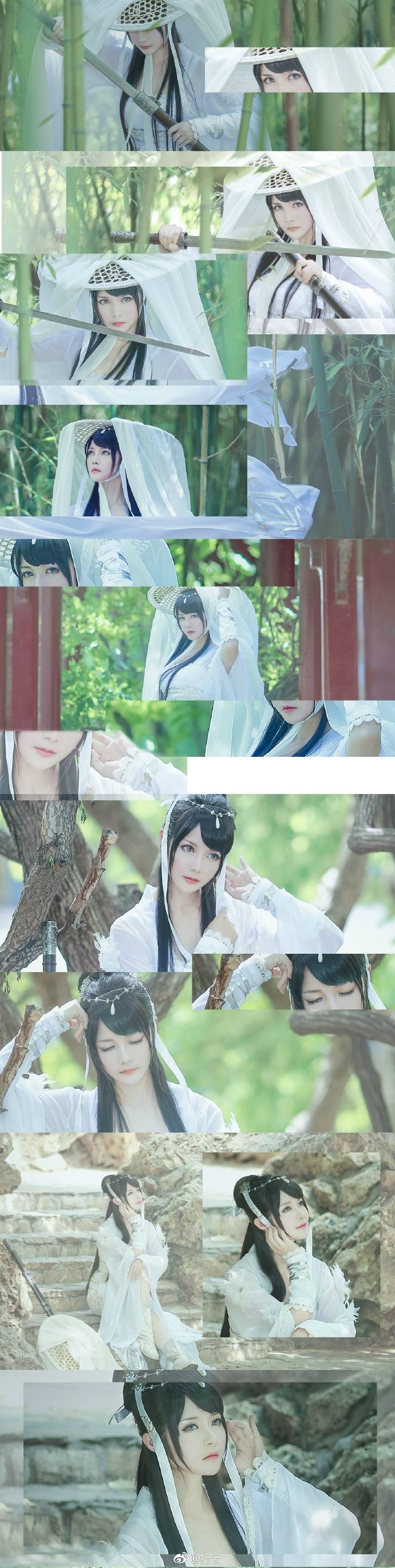 【cos正片】天涯明月刀OL---素问·太白-cos欣赏 cn:行云 cosplay-第3张