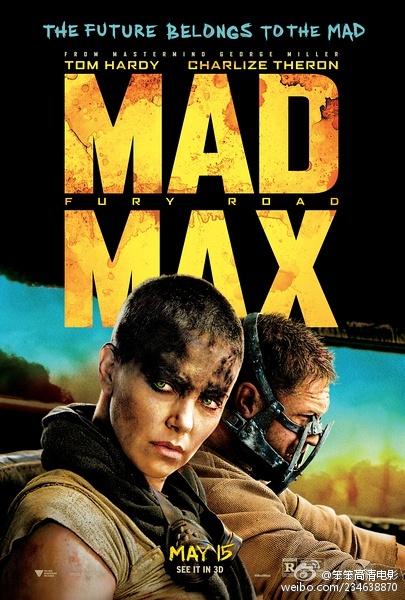 疯狂的麦克斯4:狂暴之路 2015.HD1080 迅雷下载