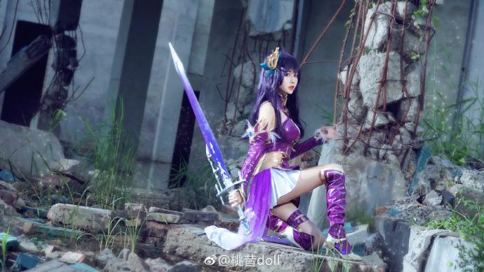 【COS正片】神无月同人cos欣赏 cn:桃昔doll cosplay-第7张