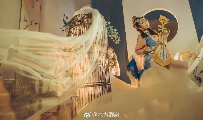 【cos正片】红尘中会有多少梦《王者荣耀》杨玉环cosplay欣赏 cosplay-第2张