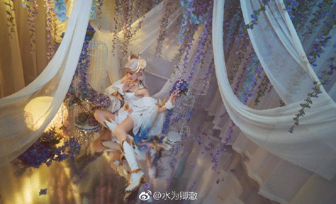 【cos正片】《王者荣耀》貂蝉金色仲夏夜之梦 cosplay-第4张
