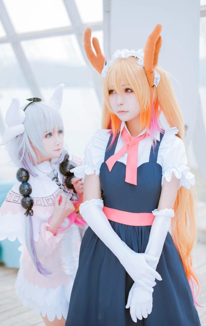 【cos正片】小林家的妹抖龙cos欣赏 cn:yui金鱼 cosplay-第1张