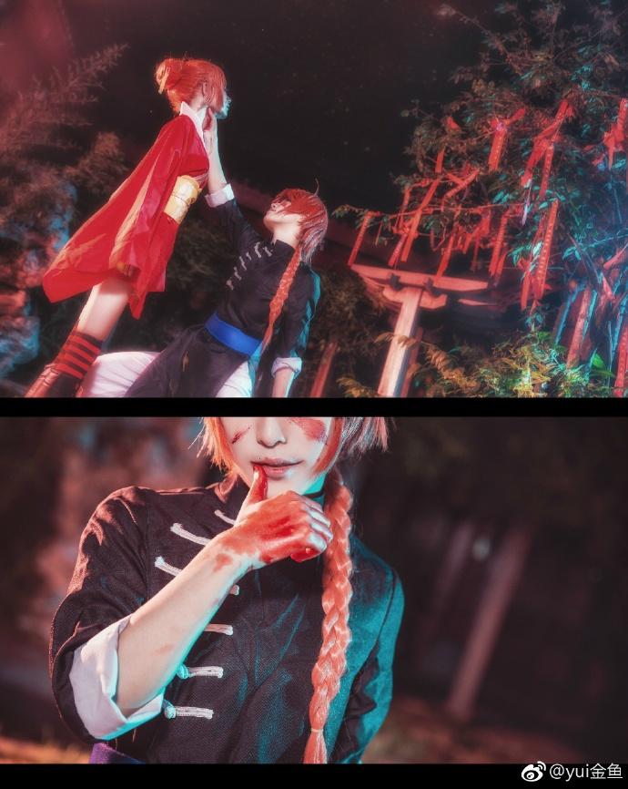 【cos正片】银魂【双神】这是我的猎物哦 cn:yui金鱼 cosplay-第9张