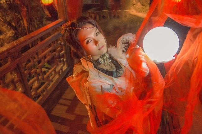 【cos正片】剑网3——藏剑·破虏二小姐 cn:寒殇 cosplay-第11张