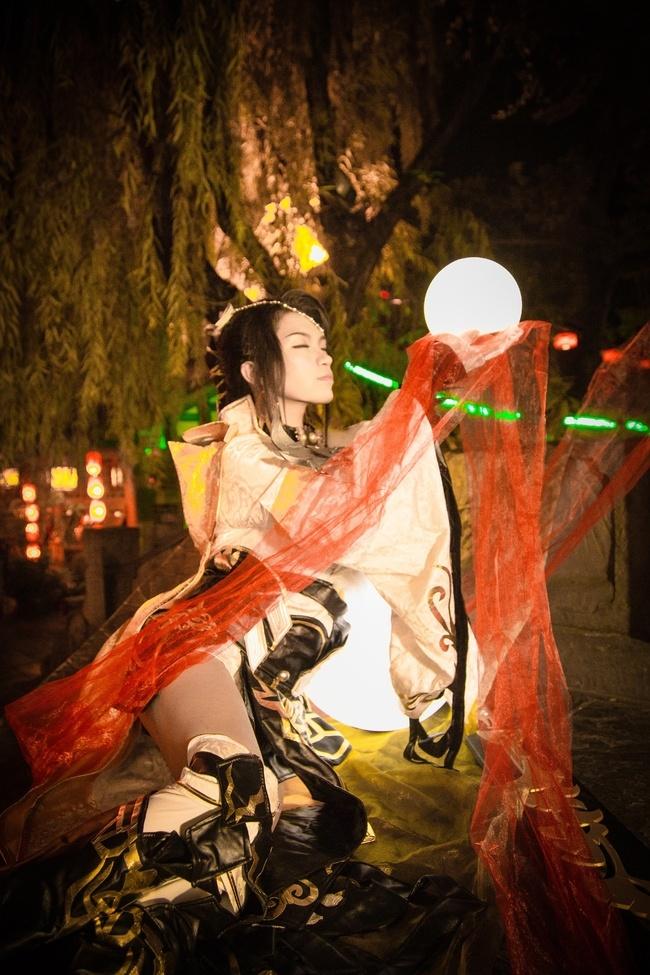 【cos正片】剑网3——藏剑·破虏二小姐 cn:寒殇 cosplay-第13张