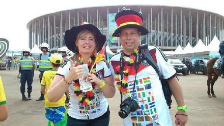 德意志这对球迷的rp才叫攒得刚刚的,人只买了三四名决赛的票,所以来看这场了。