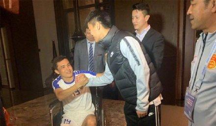 乌兹别克斯坦国脚发长文为铲伤自己的恒大球员求情