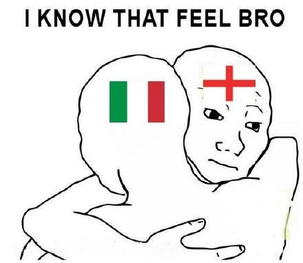 英格兰安慰意大利!