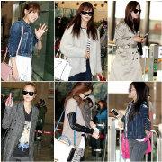 韓星機場時尚