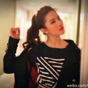 挚爱刘亦菲i微博照片