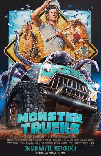 怪兽卡车高清海报