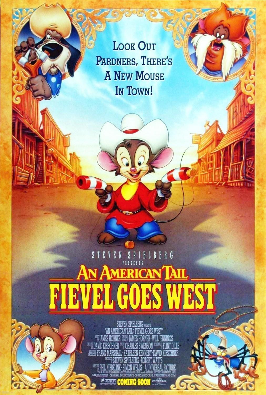 美国鼠谭2:西部历险记 An American Tail: Fievel Goes West