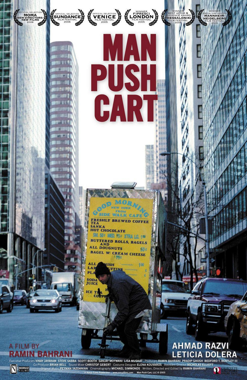 推手推车的男人 Man Push Cart