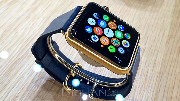 Apple Watch 配对动画欣赏,整体效果很迷幻的照片 - 1
