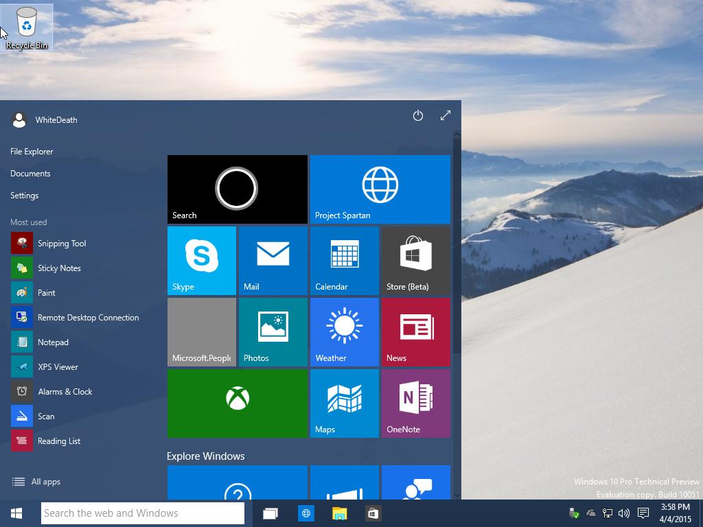 Win10下载 Windows 10 Build 10051 系统下载的照片 - 6
