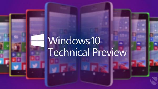 全新Windows 10 for Phone技术预览版发布的照片 - 1