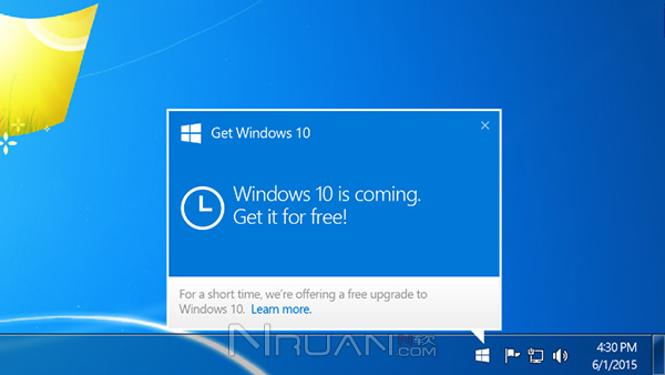 微软承诺:预览用户免费得Win10正式版系统的照片 - 1